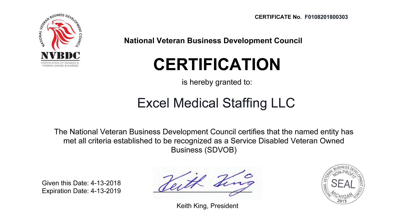 Nvbdc Billion Dollar Roundtable Excel Medical Staffing